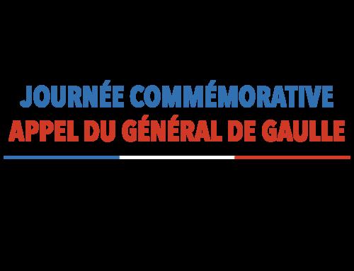 Journée commémorative de l'appel du général de Gaulle