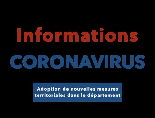 COVID 19 – Adoption de mesures territoriales dans les Alpes-Maritimes