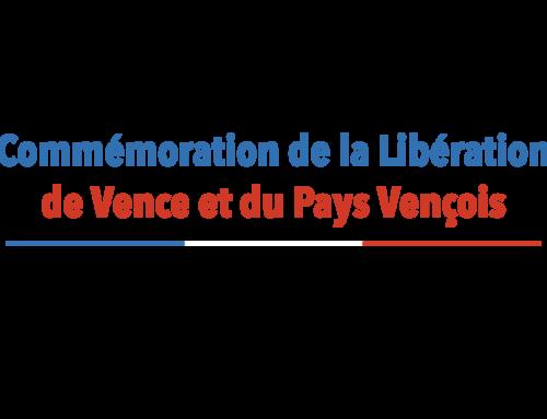 77e anniversaire de la Libération de Vence et du Pays Vençois