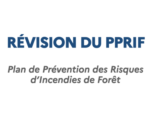 Révision du plan de prévention des risques d'incendies de forêt (PPRIF)