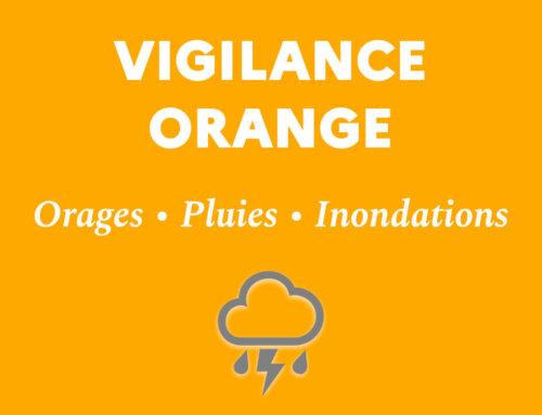 VIGILANCE MÉTÉO ORANGE : Orages, pluies, inondations (lundi 4 octobre)